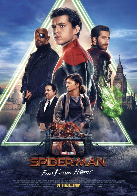 Spider-man: Lejos de casa. Un gran Euro-Superhero-Trip cierra la fase 3