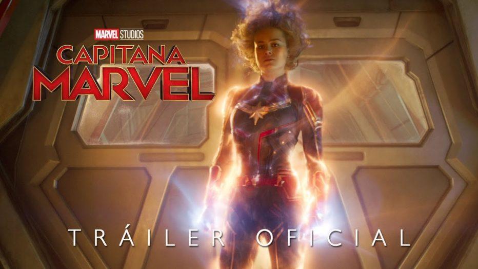 Capitana Marvel | 2o Tráiler oficial en español | HD