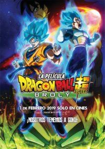 """Poster de la película """"Dragon Ball Super: Broly"""""""