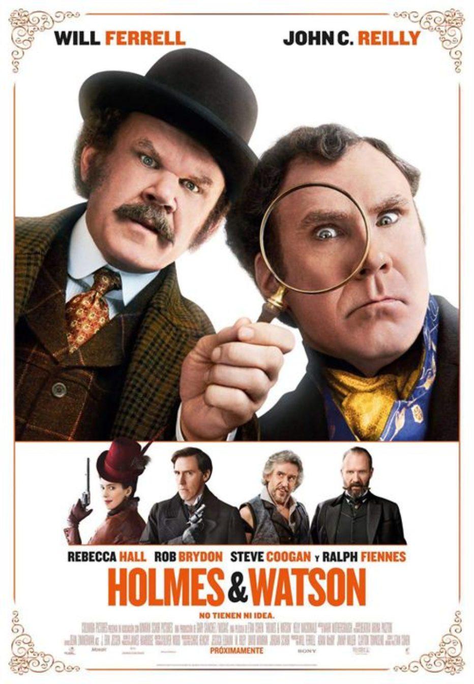 Holmes & Watson: parodia de vergüenza ajena