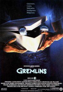 "Poster de la película ""Gremlins"""