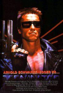 """Poster de la película """"Terminator"""""""