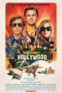 """Poster de la película """"Once Upon a Time in Hollywood"""""""