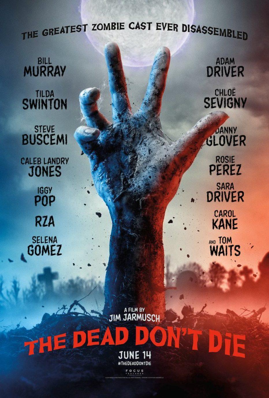 Primer trailer de The dead don't die de Jim Jarmusch