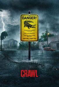 """Poster de la película """"Crawl"""""""