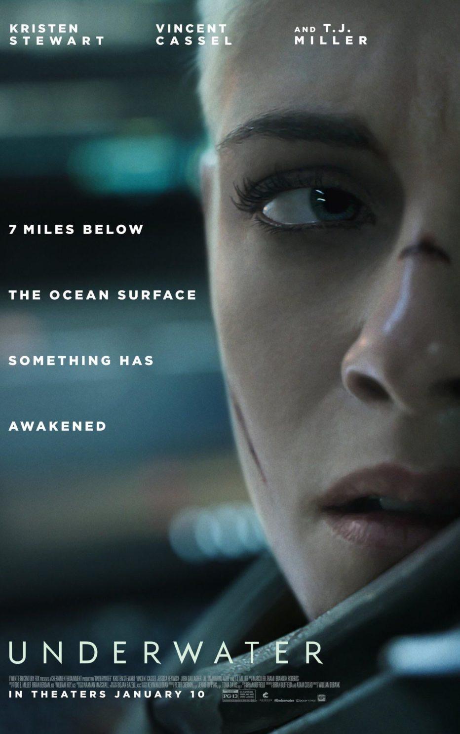 Primer trailer de Underwater: un Alien bajo el agua