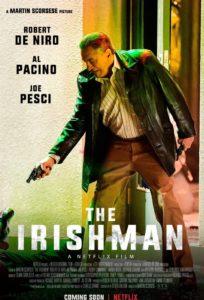 """Poster de la película """"El irlandés"""""""