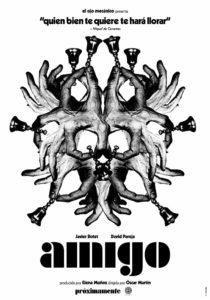 """Poster de la película """"Amigo"""""""