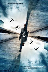 """Poster de la película """"Tenet"""""""