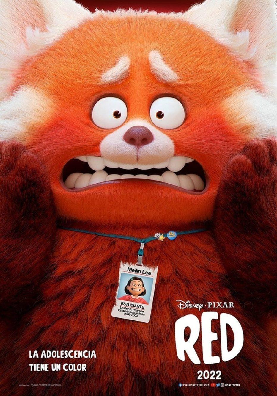 Trailer de Red de Pixar y Disney